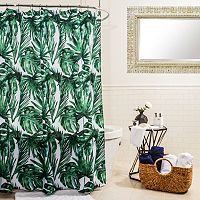 Splash Home Palm Balsa Shower Curtain