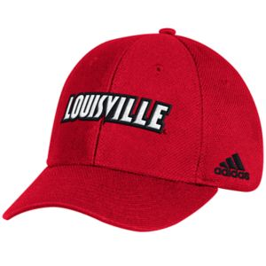 Adult adidas Louisville Cardinals Structured Adjustable Cap