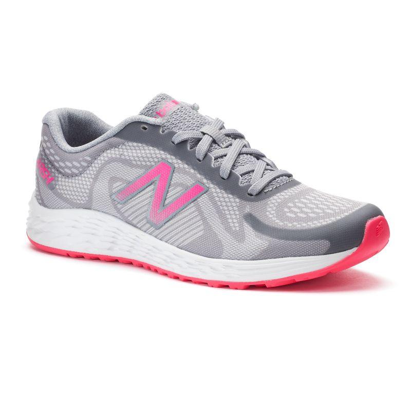 New Balance Arishi Girls' Running Shoes, Size: 11, Dark Grey thumbnail