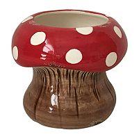 Celebrate Spring Together Large Indoor / Outdoor Decorative Mushroom Planter