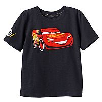 Disney / Pixar Cars 3 Toddler Boy Front & Back Lightning McQueen Graphic Tee by Jumping Beans®