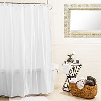 Splash Home Hydro Microfiber Shower Curtain Liner