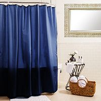 Splash Home Fabric Shower Curtain Liner