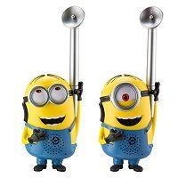 Minions Dave & Stuart FRS 2-Way Walkie Talkies