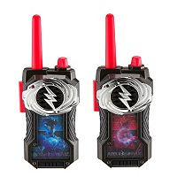 Power Rangers Blue & Red Ranger FRS Walkie Talkies by Kid Designs