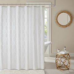 Madison Park Cabot Semi Sheer Shower Curtain by