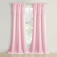 Beatrice Home Fashions 2-pack Walden Leaves Curtain