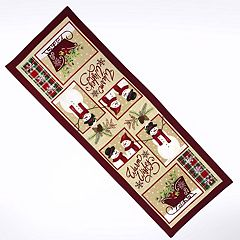 St. Nicholas Square Warm Wishes Table Runner 36\ by