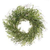 Darice Indoor / Outdoor Artificial Boxwood Wreath