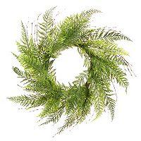 Darice Indoor / Outdoor Artificial Greenery Wreath