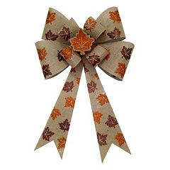 Celebrate Fall Together Light-Up Bow Wall Decor  by