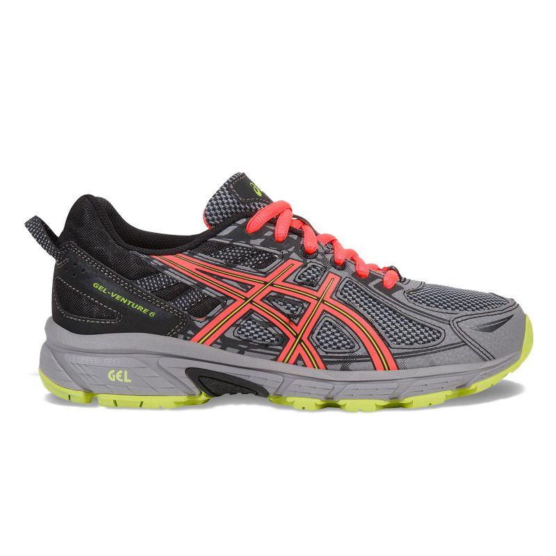 ASICS GEL-Venture 6 Women's Trail Running Shoes, Size: 5, Grey (Charcoal) thumbnail