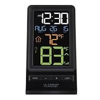 La Crosse Technology Wireless Color LCD Thermometer with Indoor / Outdoor Temperature