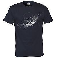 Big & Tall Lost Creek Bass Tee