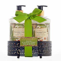 Simple Pleasures Coconut Lime 2-pc. Bath Caddy