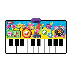 Fisher-Price Dancin' Tunes Rock N Roll Step-On Keyboard by