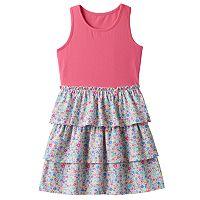 Toddler Girl Jumping Beans® Patterned Tiered Skirt Dress