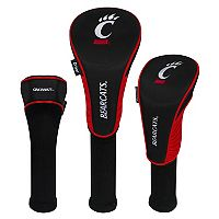 Team Effort Cincinnati Bearcats 3-Piece Club Head Cover Set