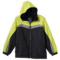 Boys 8-20 Arctic Quest Colorblock Fleece-Lined Hooded Jacket