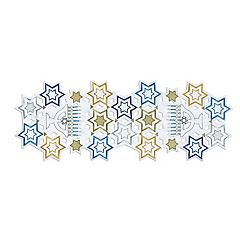 St. Nicholas Square Hanukkah Cutout Table Runner 36\ by