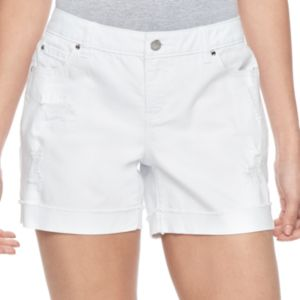 Women's Jennifer Lopez Rockin' Ripped Boyfriend Jean Shorts
