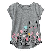 Toddler Girl Jumping Beans® Kitty Graphic Tee