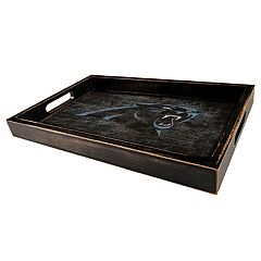Carolina Panthers Distressed Serving Tray by