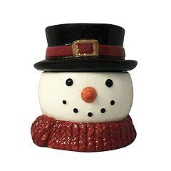 St. Nicholas Square Snowman Christmas Cinnamon Buns 5-oz. Candle