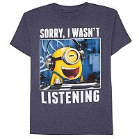 Boys 8-20 Minion DJ Tee