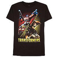Boys 8-20 Transformers Tee