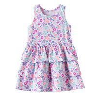 Toddler Girl Jumping Beans® Print Tiered Dress