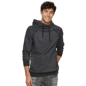 Men's Rock & Republic Textured Cross-Over Hoodie