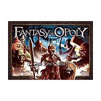 Fantasy-opoly Board Game by Late For The Sky