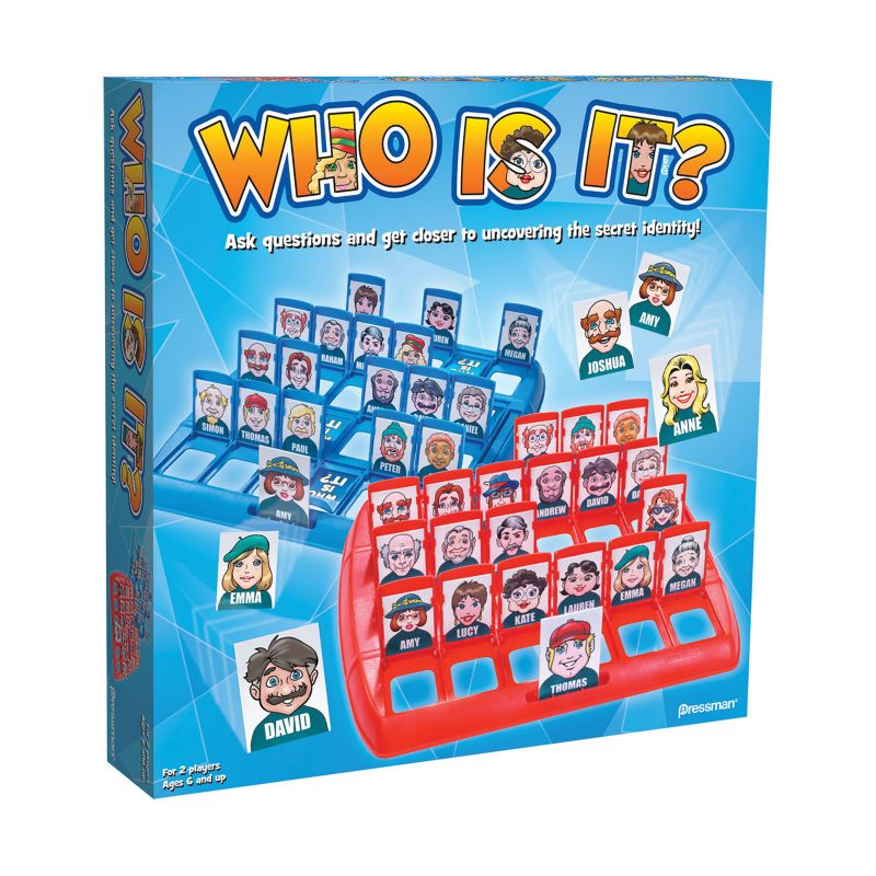 Who Is It? Game by Pressman Toy, Multicolor thumbnail