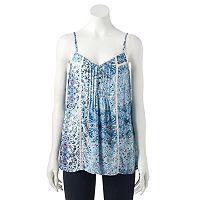 Women's SONOMA Goods for Life™ Pintuck Camisole