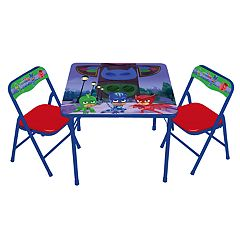 Click here to buy PJ Masks Activity Table & Chairs Set.