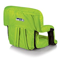 Picnic Time Seattle Seahawks Ventura Portable Recliner Chair by