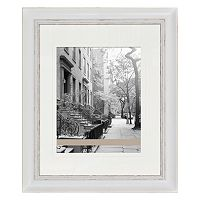 Belle Maison Fashion Gallery Distressed White Frame