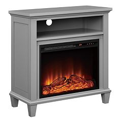 Altra Ellington Electric Fireplace TV Stand by
