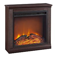 Altra Bruxton LED Electric Fireplace