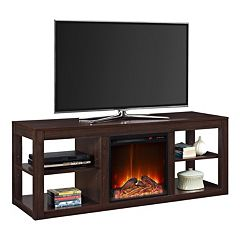 Altra Parsons Electric Fireplace TV Stand by