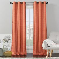 VCNY Home 2-pack Livingston Solid Foamback Curtain