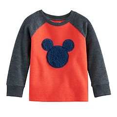 Disney's Mickey Mouse Toddler Boy Sherpa Graphic Raglan Top by Jumping Beans by