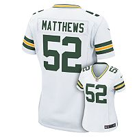Women's Nike Green Bay Packers Clay Matthews NFL Jersey