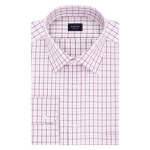 Big & Tall Arrow Regular-Fit Poplin Wrinkle-Free Dress Shirt