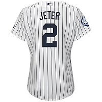 Plus Size Majestic New York Yankees Derek Jeter Replica Jersey