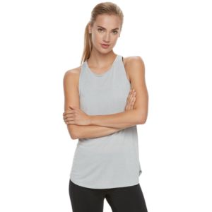 Women's Tek Gear® Performance Shirttail Racerback Tank