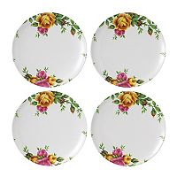 Royal Albert 4-pc. Old Country Roses Melamine Salad Plate Set