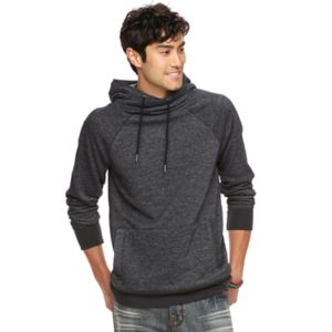 Big & Tall Rock & Republic Textured Cross-Over Hoodie