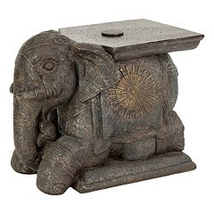 Bombay Outdoors Elephant Sculpture Patio Umbrella Base by